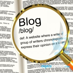 definition of blog